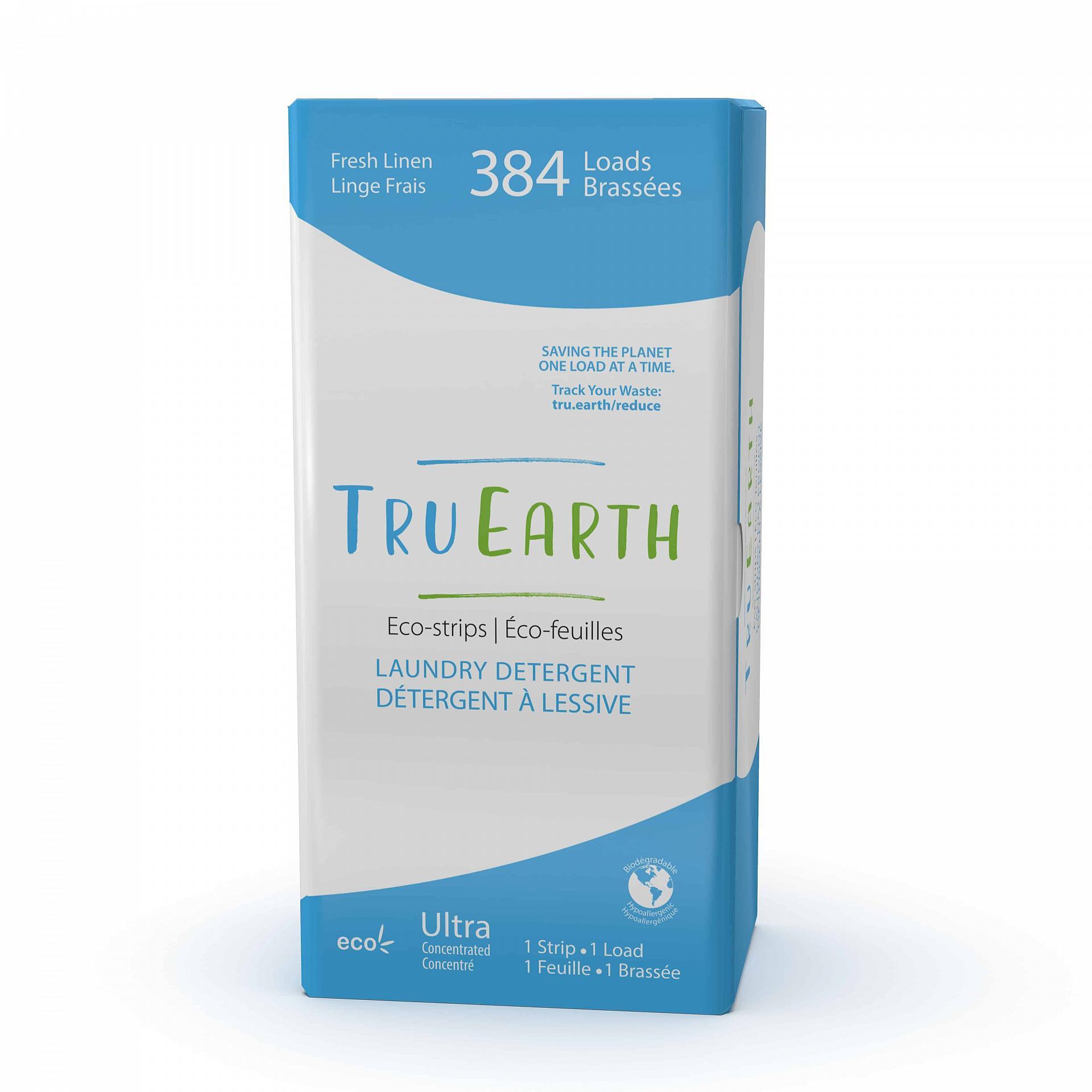 Tru_Earth_Eco_strips_Laundry_Detergent_Fresh_Linen_384_Loads